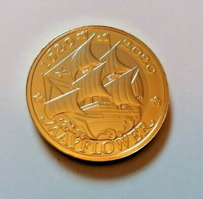 2020 Mayflower, Two Pound Coin BU Uncirculated