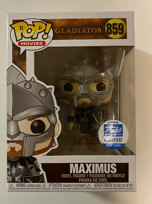 Funko Pop! Gladiator Movies Funko Shop Exclusive - Maximus #859