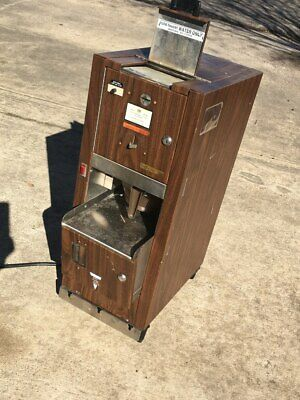 Old style coin coffee vending machine