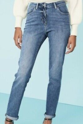 Next Relaxed skinny Jeans size 22L in Blue