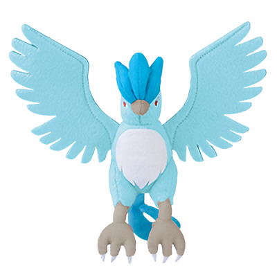 "Pokemon Legendary Articuno 11"" Character DX Plush Toy Stuffed Doll Anime Art"