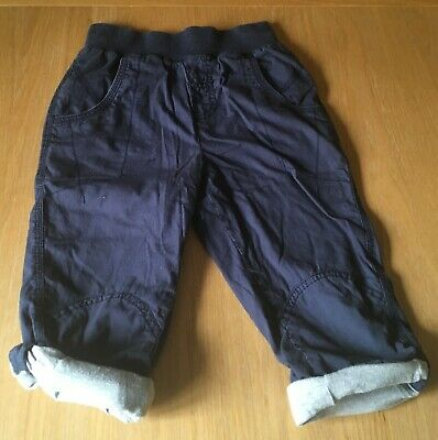 Boys John Lewis Navy 3/4 Length Trousers Size 7 Years