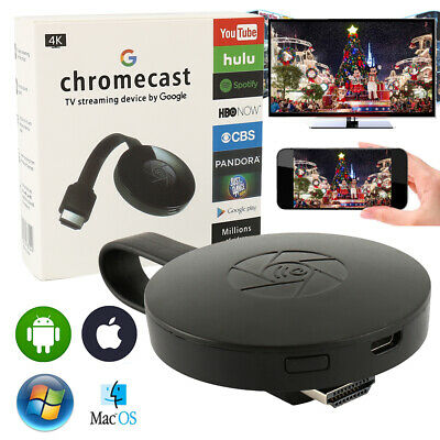 Pr Google 2 Chromecast WiFI Media 1080P HDMI Streamer Dongle vidéo multimédia J0