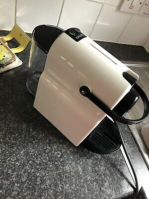 Krups Nespresso Inissia 3 Cups Coffee Maker - White. Used Once!!