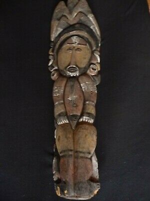 important WOSERA PEOPLE Sculpture -  PNG - Oceanic Art