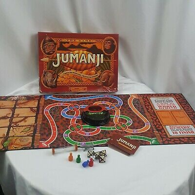 Jumanji Board Game 2017 100% Complete Box Repaired
