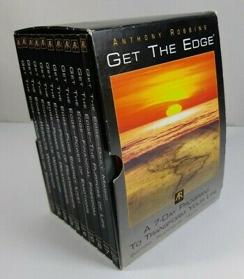 Anthony Robbins CD Set - Get the Edge 7 Day Program to Transform Your Life