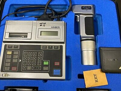 Konica Minolta CR-210 Data Processor Chroma Meter