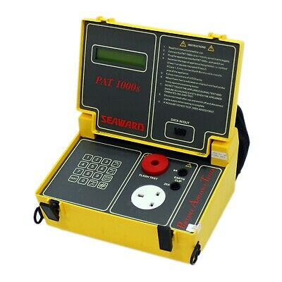 Seaward 1000S PAT tester with vintage PATS software & Warranty