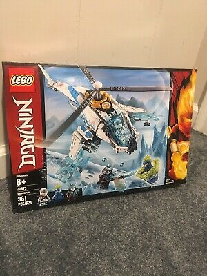 LEGO NINJAGO ShuriCopter 70673 Helicopter Building Set 361pc Free Shipping