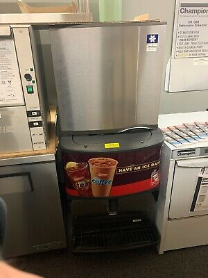 Manitowoc Sdo322A Ice Machine Ice Maker And Dispenser Dunkin Donuts
