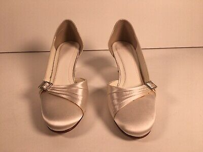 Else Ladies Bridal Wedding Shoes Size 4