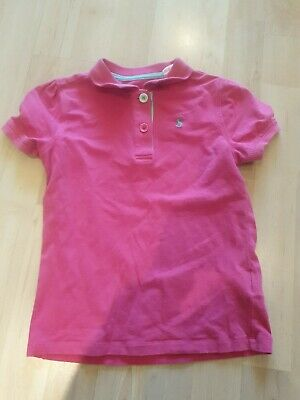 Girls Pink Short Sleeved T Shirt By Joules 128cms