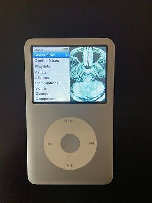 Apple iPod classic 7th Generation Silver (160 GB)