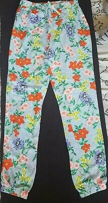 Girls Pretty Summer Floral Trousers From TU At Sainsbury's Aged 10 Years
