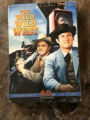 The Wild Wild West - The First Season (DVD, 2006, 7-Disc Set) BRAND NEW Western