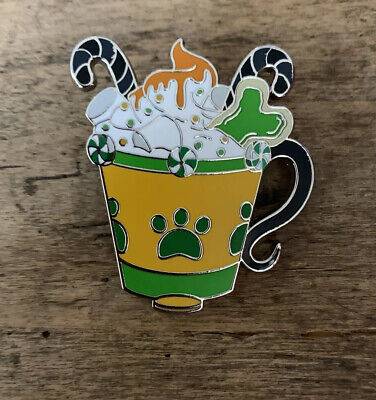 Disney Parks Happy Holiday Hot Cocoa Pin Mystery Box Pluto 2019