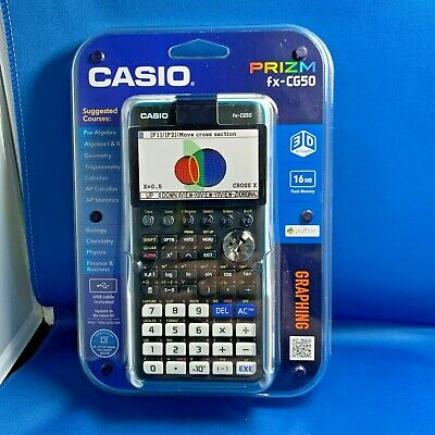 NEW Casio Graphing Calculator FX-CG50 Prizm *FREE US SHIPPING*
