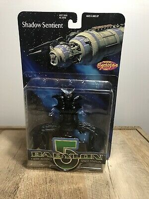 Babylon 5 Earth Alliance Space Station Shadow Sentient Action Figure