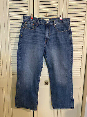 NWT Gap Gap for Good Men's Denim Jeans, Relaxed 36Wx30L NEW!