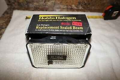 Hobbs 7272815 Halogen Marine Sealed 24V Beam Flood Light