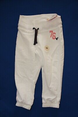 Girls Marks & Spencer Indigo white tracksuit bottoms - (6 to 7 years) (New)
