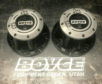 Boyce Equipment Rockwell 2.5 Ton M35 Lockout Hubs