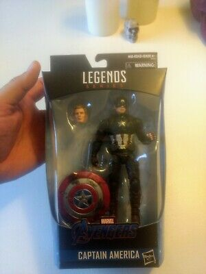 Marvel Legends Worthy Captain America Power and Glory Walmart Exclusive in hand.