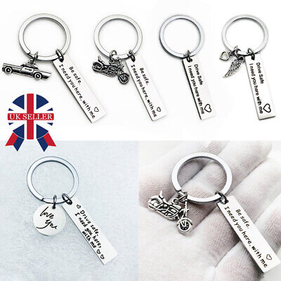 To My Men Women Keyring Valentines Day Gift Her Him Couple Husband Key Ring UK