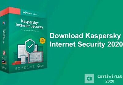 Kaspersky Internet security 2019 2020 - 1 PC - 1 Anno