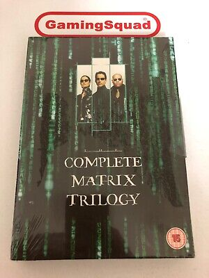 The Complete Matrix Trilogy NEW DVD, Supplied by Gaming Squad