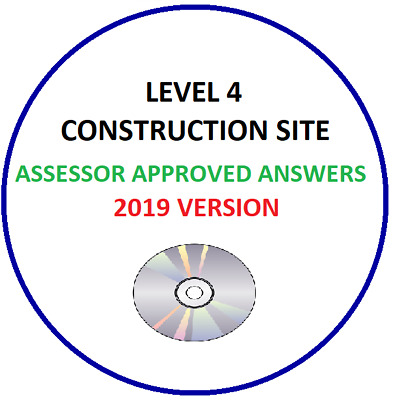 NVQ Level 4 Construction Site Answers 2019 Sent on CD