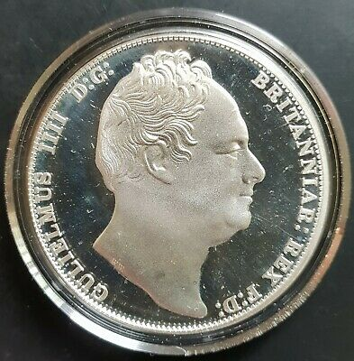 1830 William IV Sterling Silver Proof Pattern Crown (NSW Sydney)  UNC....
