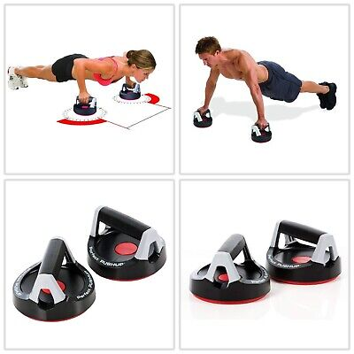 Perfect Fitness Perfect Pushup Rotating Push Up Handles Pair