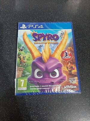 Brand New Playstation 4 Spyro The Dragon Reignited Trilogy x3 Games PS4