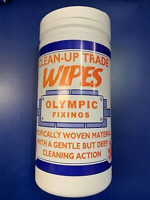 Olympic Fixings 80 Clean Up Trade Hand Tools General Wipes
