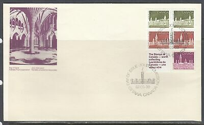 Canada Scott 948a Bkl Pane FDC - 1987 Booklet Issue