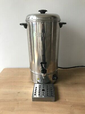Buffalo Stainless Steel Hot Water Boiler GL346 10L Litre Plus Drip Tray