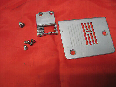 Singer 3116 Simple Sewing Machine Parts Needle Throat Plate Feed Dog