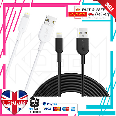 Apple Lightning USB Cable MFI Certified Anker PowerLine for iPhone XS Max XR 8 7