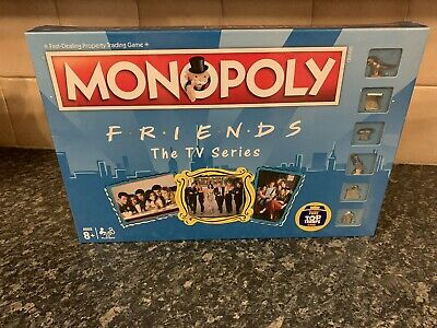 Monopoly Friends The Tv Series Board Game - Brand New & Sealed