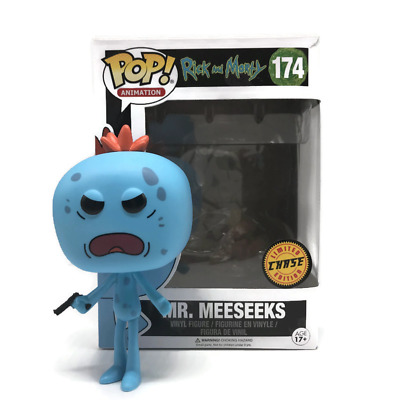 Funko Pop! Vinyl Chase Edition BNIB – Mr. Meeseeks – Rick and Morty (#174)