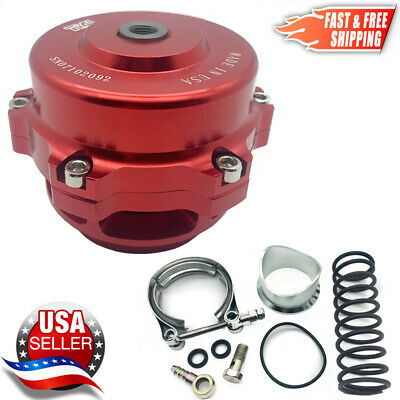 TiAL Style BOV 50mm Billet Blow Off Valve Version #1 RED   2-3 Day Delivery USA