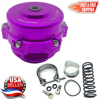 TiAL Style BOV 50mm Billet Blow Off Valve Version #1 PURPLE 2-3 Day Delivery USA
