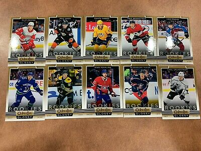 2019-20 UD Upper Deck Series 1 OPC O-Pee-Chee GOLD Glossy Rookies COMPLETE set