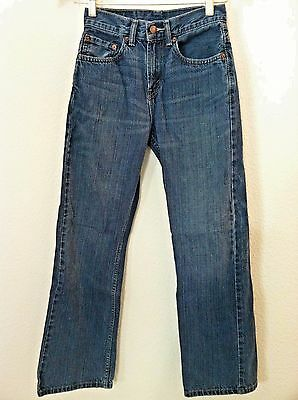 Levis Boys jeans blue medium wash 527 size 14 slim  25 X 27