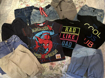 Baby Boy 18-24 Months 1.5-2 Years Bundle Jeans Shorts T-shirt Next Ted Baker