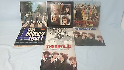 The BEatles Vinyl LP Collection, 7 x 12 Inch: Abbey Road, Let it Be, Sgt Pepper