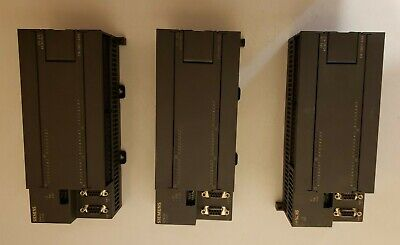 LOT of 3 Siemens Simatic S7-200 CPU 226 AC/DC/RLY  6ES7 216-2BD21-0XB0 PLC Used