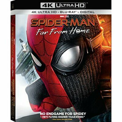 Spider-Man: Far From Home [4K Ultra HD Blu-ray/Blu-ray] [2019]